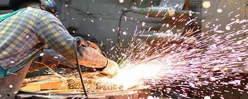 Stahlbauschlosser - Das Bild zeigt einen Stahlbauschlosser