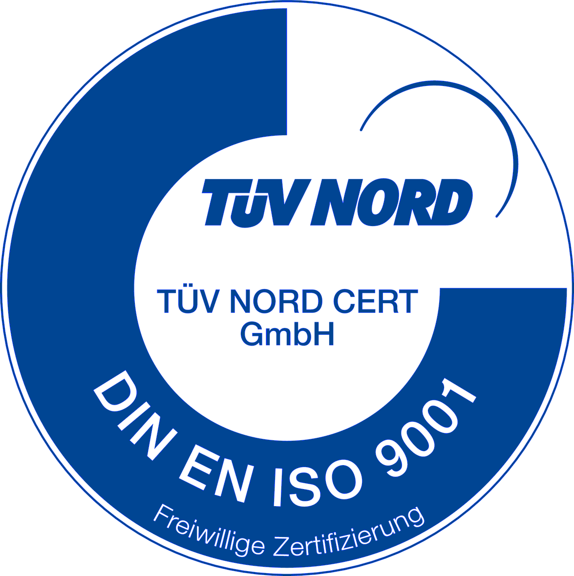 TüV NORD DIN EN ISO 9001